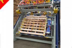 新款木托盘打钉机,木栈板生产线