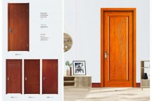 实木复合烤漆门剖面图