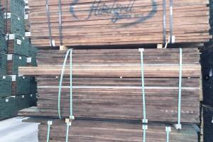 北美黑胡桃木板材实物视频