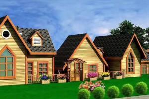香柏木木屋与传统房屋相比有什么优势?