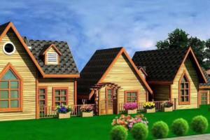 香柏木木屋建造价格