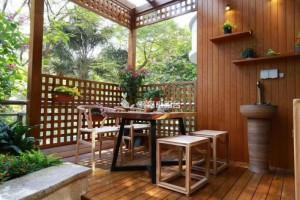 香柏木木屋建造