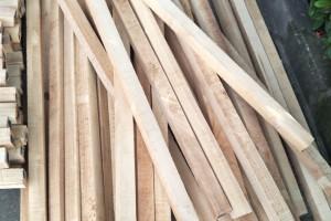 进口橡胶木锯材 泰国橡胶木烘干板材方料 木板材