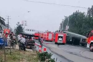 临沂方城镇诸满木业厂发生火灾!