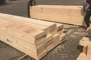 无锡樟子松工地木方加工厂