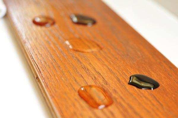 并不是所有品种的木材都适用木蜡油