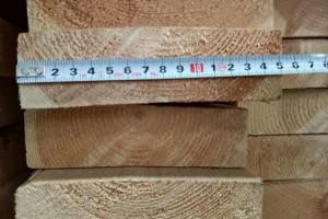 大量出售樟子松云杉木板材