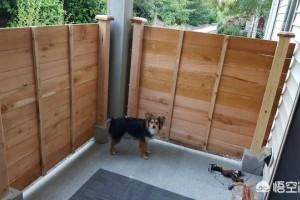 庭院怎么安装木栅栏?