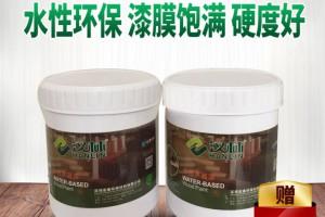 汉林水性木器漆,透明抗划伤家具清漆(单组分可达2H硬度)