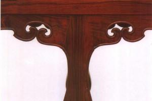 明式家具各构件衔接的最好状态,完美交圈的原则和意义