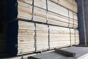 黄杨木板材库存视频
