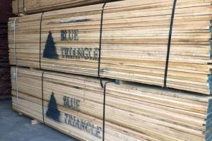 北美红橡木板材和白橡木板材实物高清图片