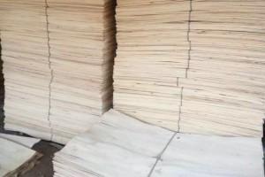 丰县杨木三拼木皮实物高清图片