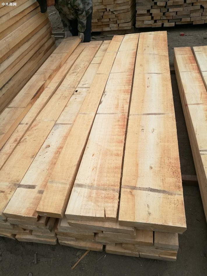 建淼木业白杨木烘干板材纹理通达清晰