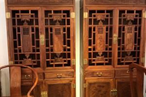 缅甸花梨书柜多少钱