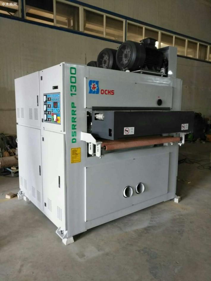 砂光机的优点:提高木工行业机械化水平