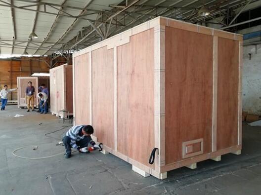 宜昌出口木托盘去往美国木栈板的标尺寸