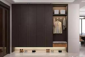 衣柜门易变形?用框剪结构实木板试试