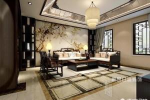 新中式客厅适合用什么颜色的乳胶漆?