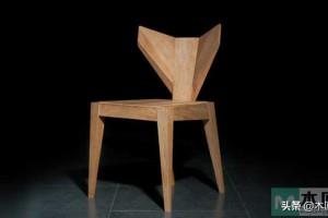「椅子靠背仿佛一片树叶」 打造独特椅子外形,简约之美的设计座椅
