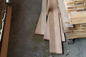 低价处理一批柞木,有大板,刨光材,家具配料