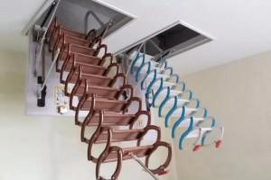 伸缩隐形楼梯案例视频