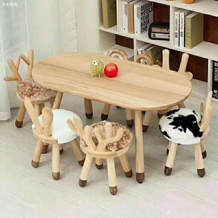 北欧橡木餐桌椅,儿童宝宝椅厂家
