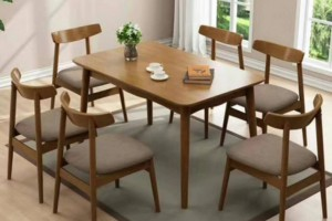 山东省宁津县专业生产北欧橡木餐桌椅,儿童宝宝椅