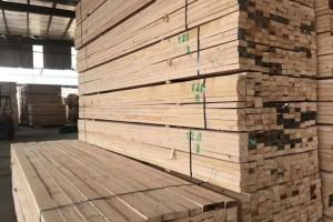 建筑木方加工厂热火朝天,原来建筑木方都在这里买!