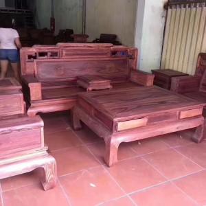 真正白酸枝沙发六件多少钱代理红木家具品牌