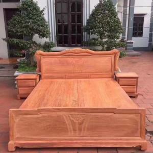 红木大床红木家具什么品牌好