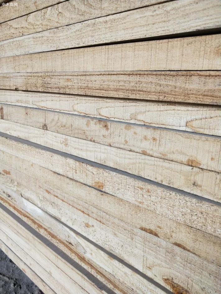 河南榆木烘干板材今日最新报价