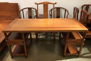 今天的匠心居精品红木家具就是未来的古董