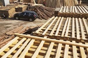 杉木建筑木方加工厂视频