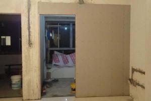 家装,隔墙只用木板和隔音棉行吗?