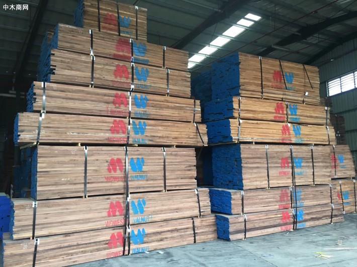 北美黑胡桃木板材产品
