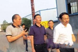 省产业局调研组对分宜县林业产业进行调研考察
