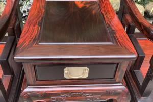 大红酸枝太师椅子高清图片