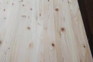 有节桧木直拼板实物图片