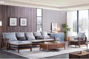 白蜡木实木转角沙发价格