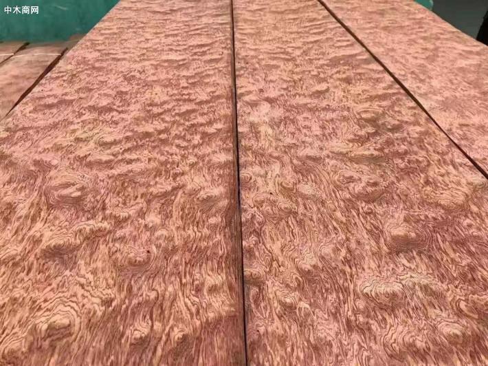 精品球纹花梨木皮 超宽皮 贴面皮0.45mm
