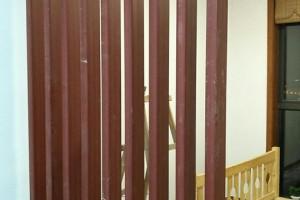 厂家直销生态木方通 新型环保装饰材料格栅隔断天花吊顶可定制