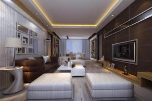 现代客厅该怎么装修?8款高雅经典的效果图,供你参考