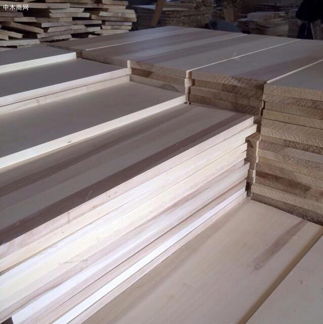 杨木烘干板材今日最新报价厂家