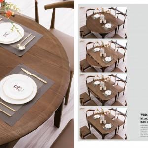 实木餐桌椅十大品牌