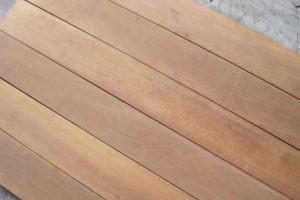 供应坤甸铁木板材料 筷子料 户外料 地板料特力发品牌铁樟