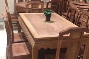 印尼黑酸枝长方桌