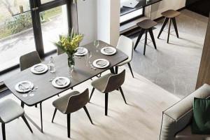 灰色地砖是否可以搭配黑胡桃家具?