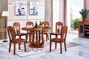 金丝檀木餐桌椅