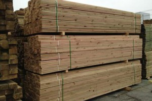 满洲里的木材至全国各地的发货量有所下降